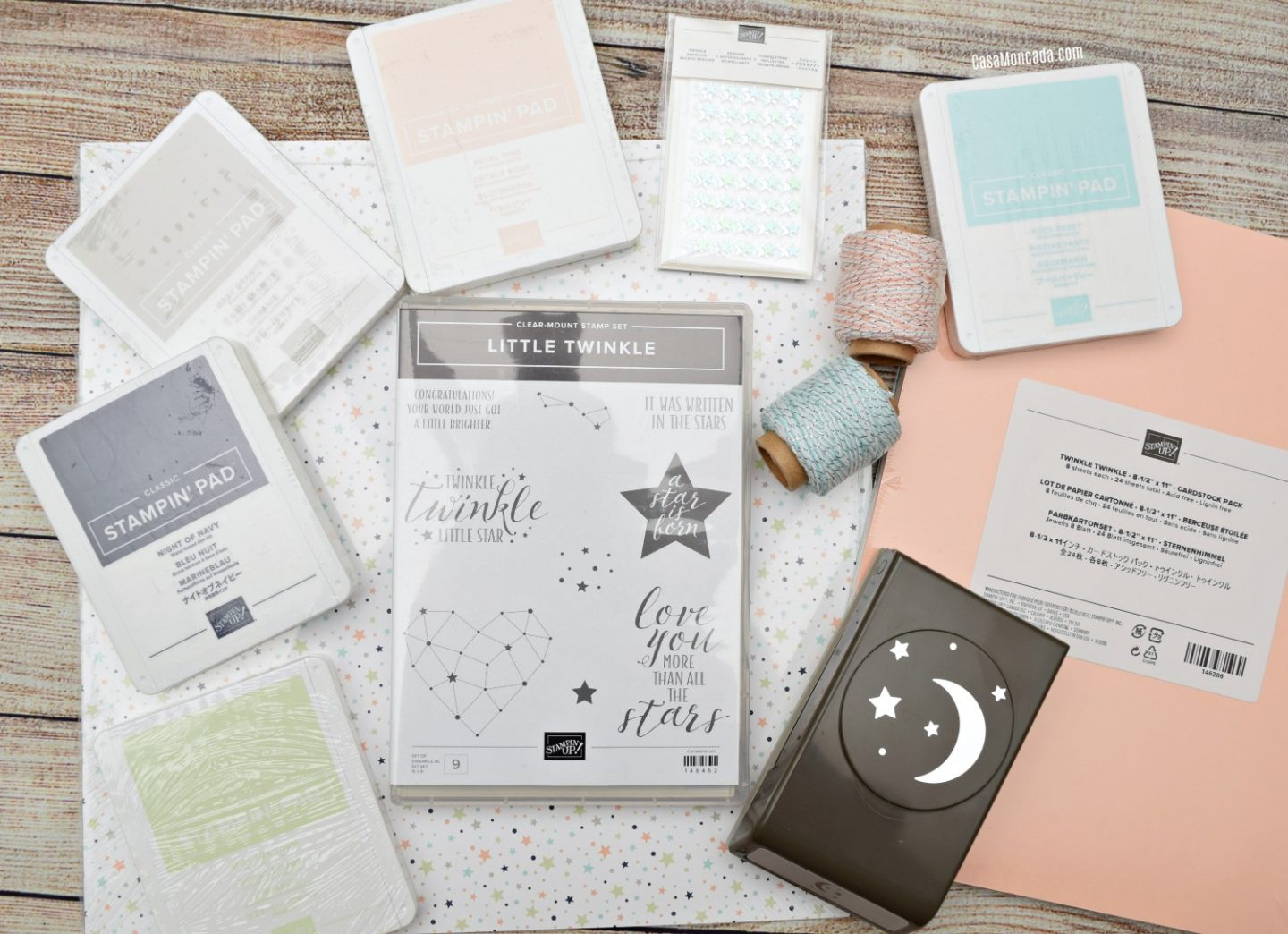 Stampin' Up! Little Twinkle suite