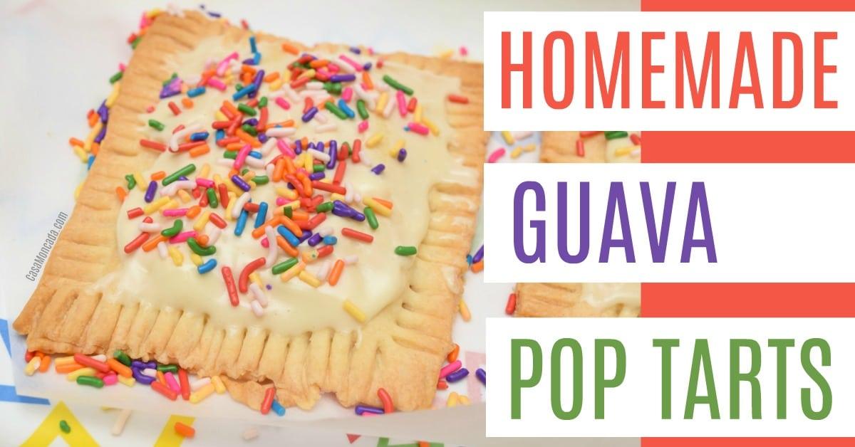 Guava Pop Tarts with sweet glaze