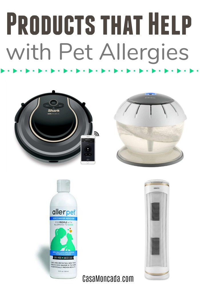 Products that help with Pet dander