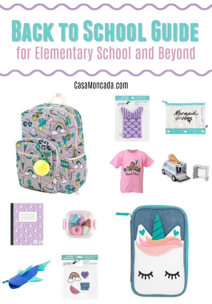 back to school guide for elementary school and beyond