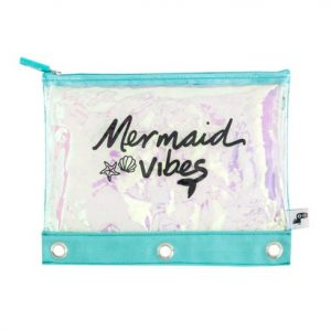 yoobi mermaid pencil case
