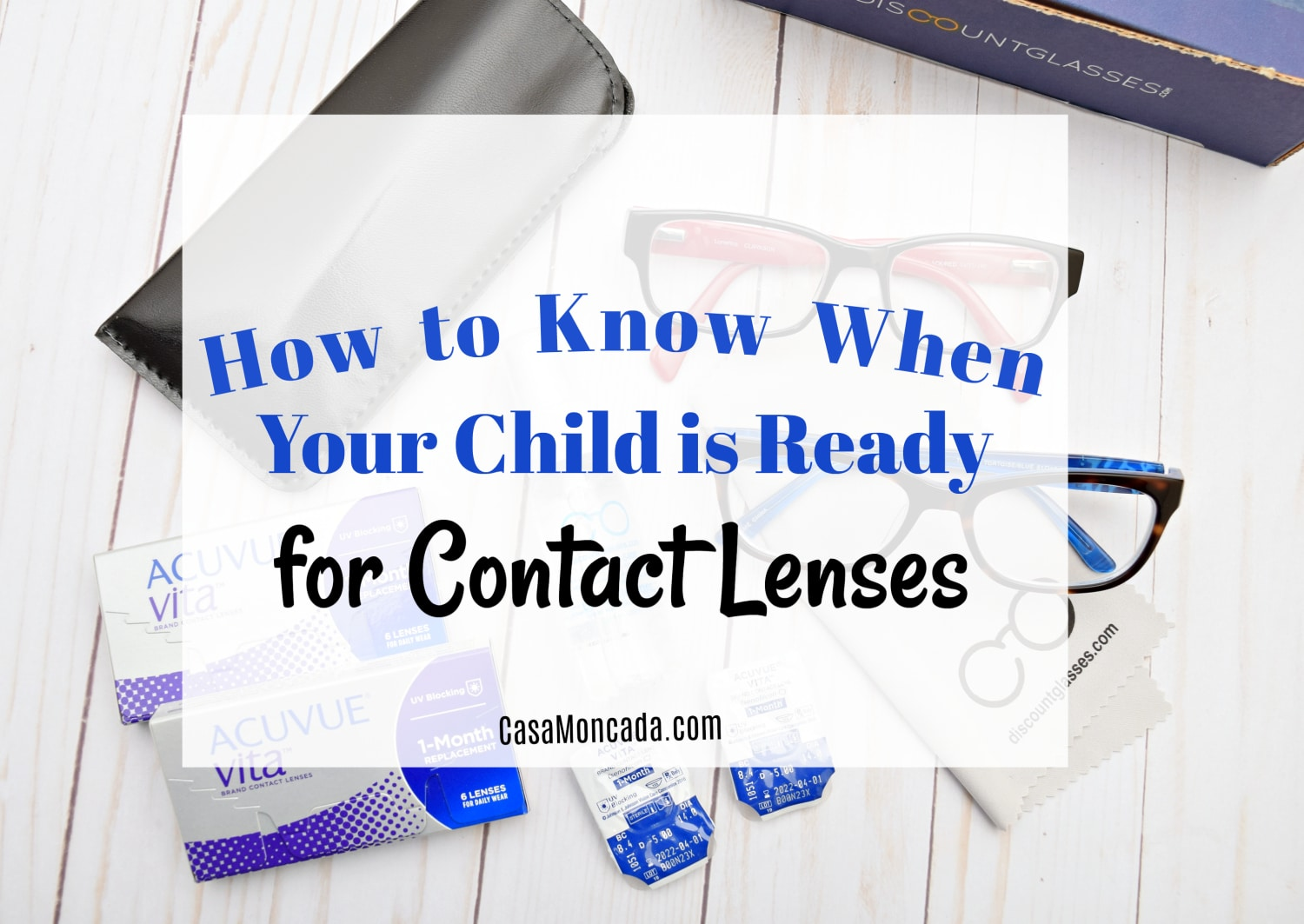 How to know when your kids are ready fro contact lenses