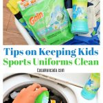 Tips on Keeping your child's sports uniforms clean