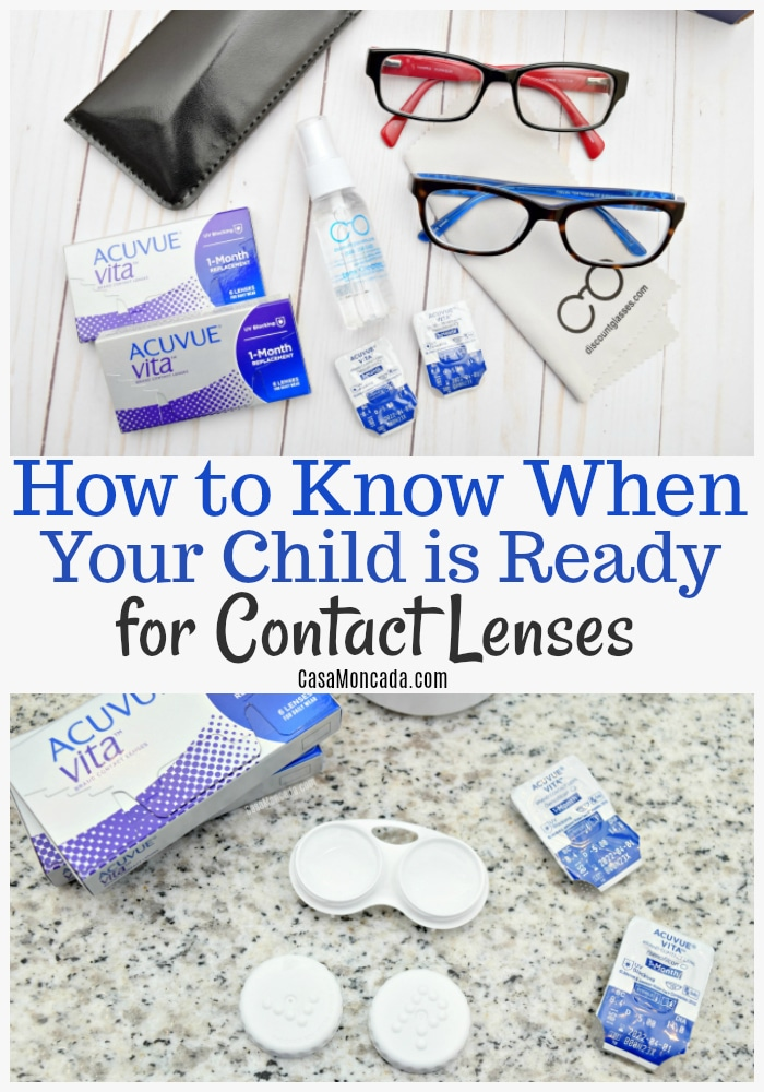 how to know when your kids are ready for contact lenses