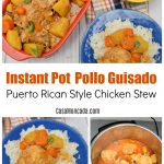 Instant pot pollo guisado recipe