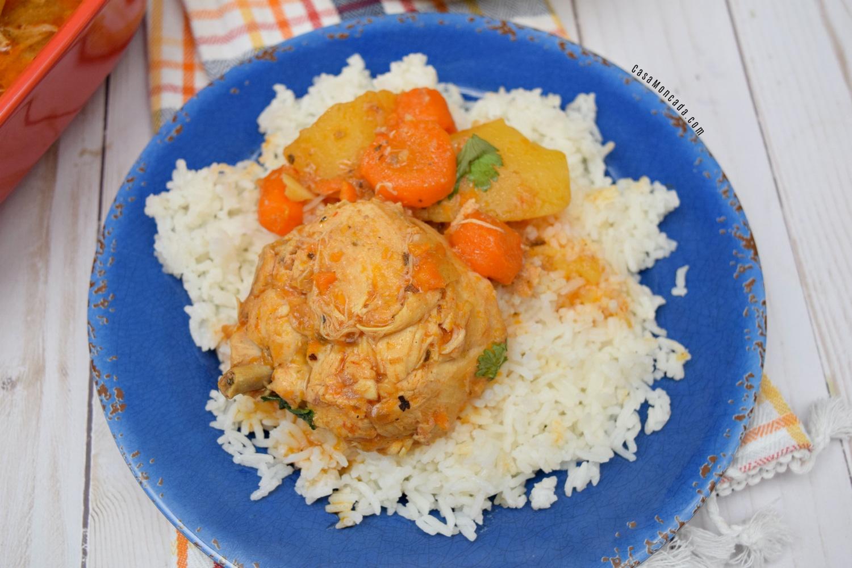 Puerto rican pollo guisado recipe