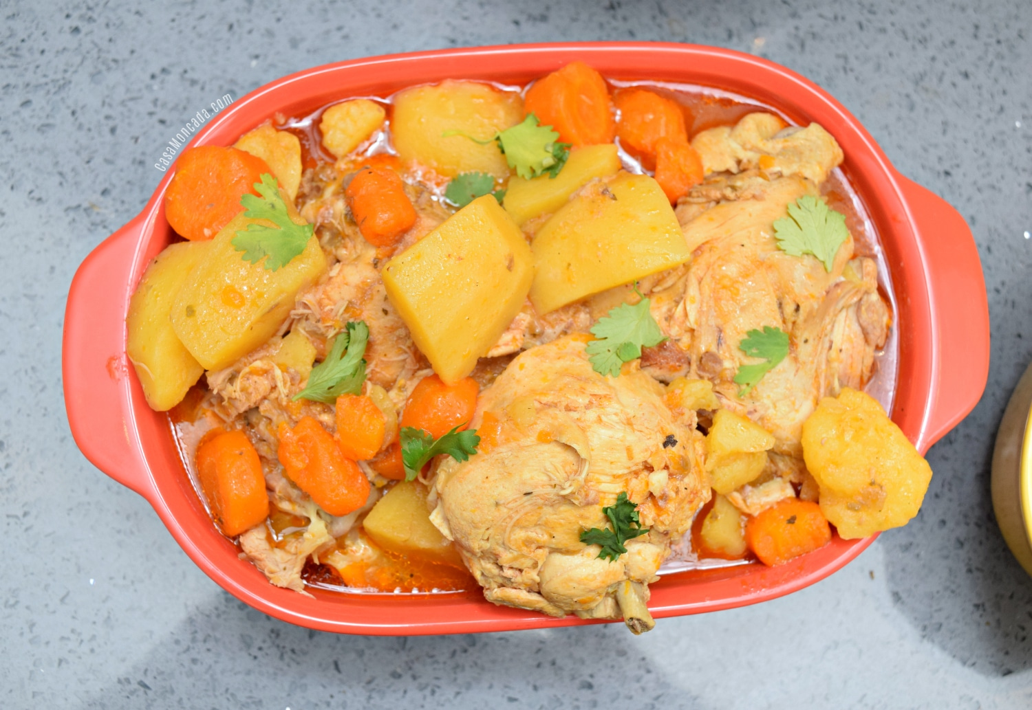 pollo guisado using instant pot