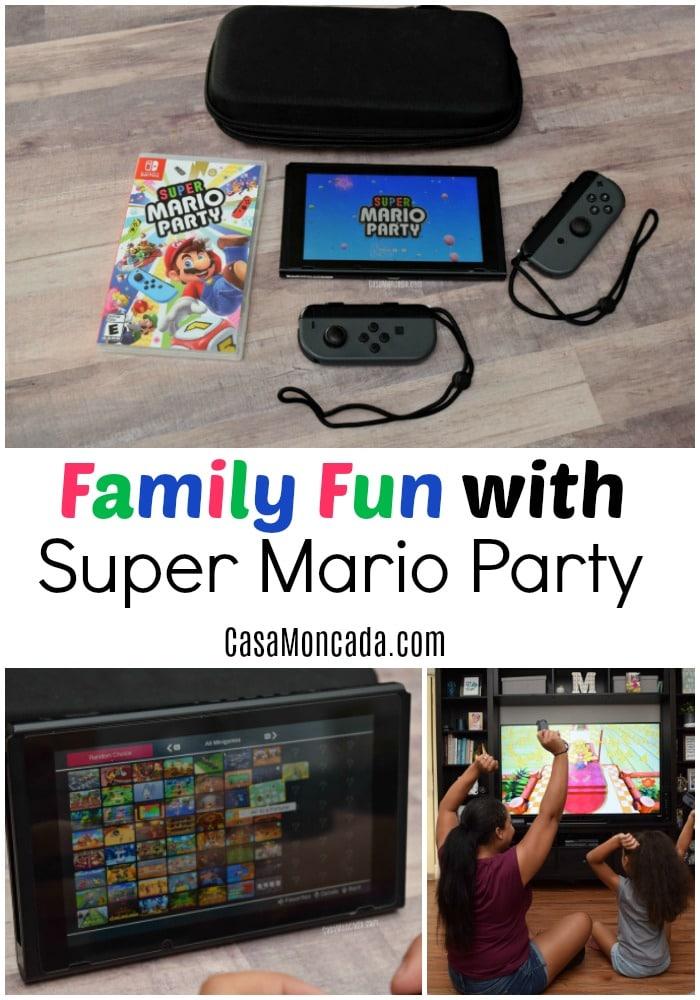 super mario party family fun