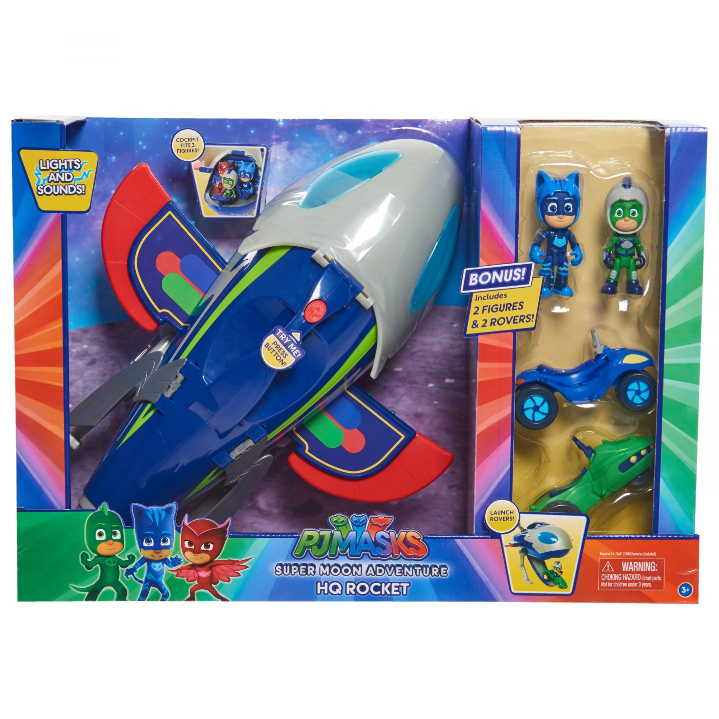 PJ Masks with Rocketship