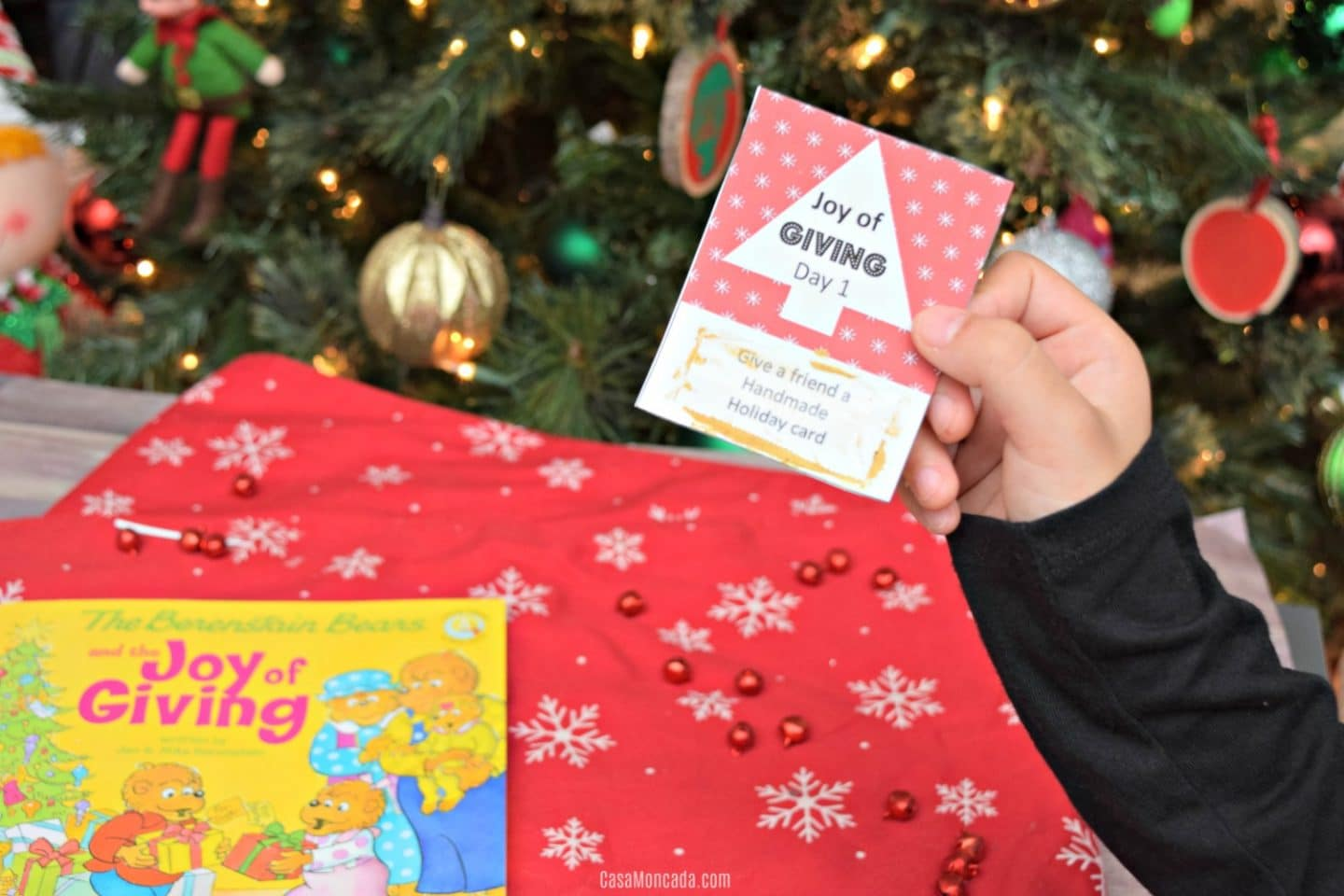 Joy of Giving scratch off card