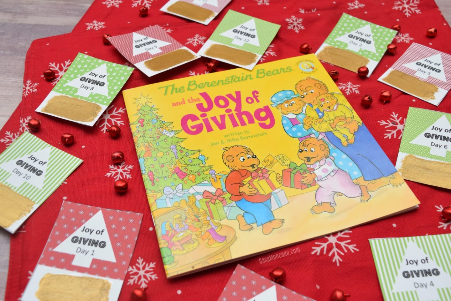 Joy of Giving scratch-off cards