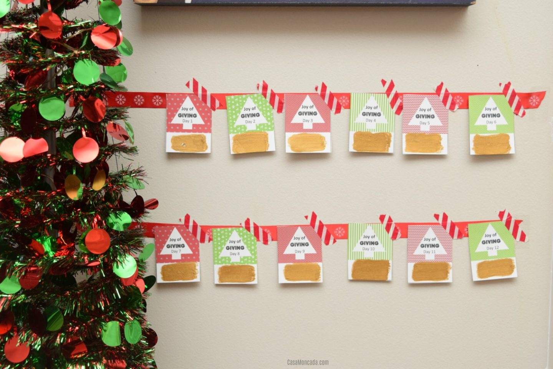 Scratch-off Advent Calendar