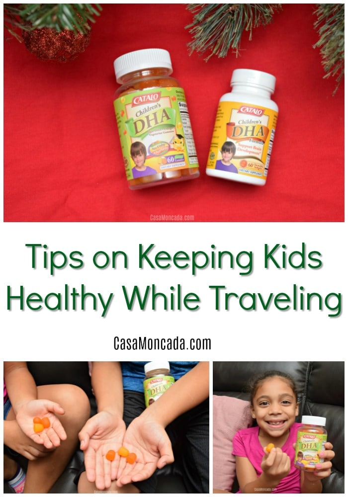 Tips on Keeping Kids Healthy While Traveling this holiday season