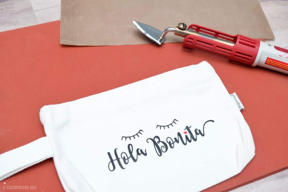 DIY Hola Bonita Makeup Bag Tutorial
