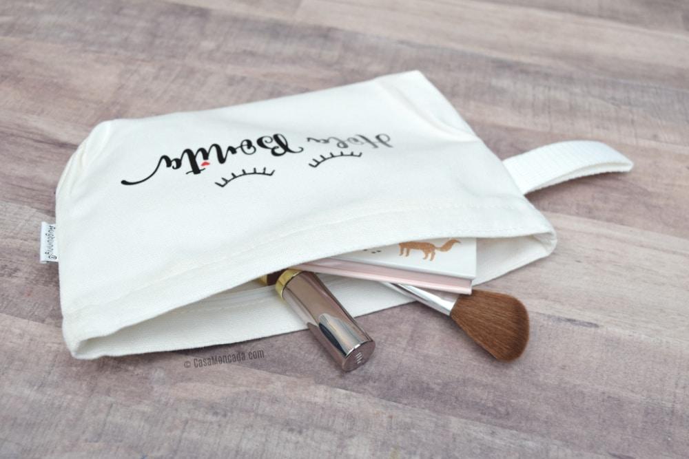 Iron On Vinyl Makeup Bag
