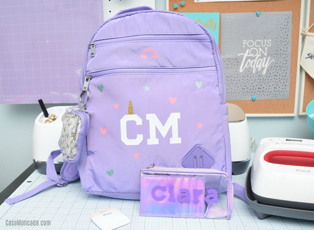 Easy Personalized Kids Unicorn Backpack