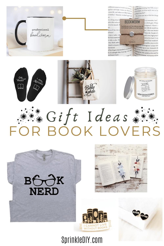 Gift Ideas For Book Lovers Sprinklediy