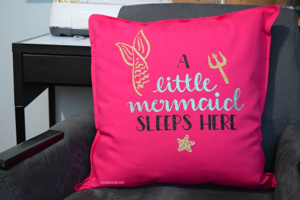 Mermaid Iron-on Pillow