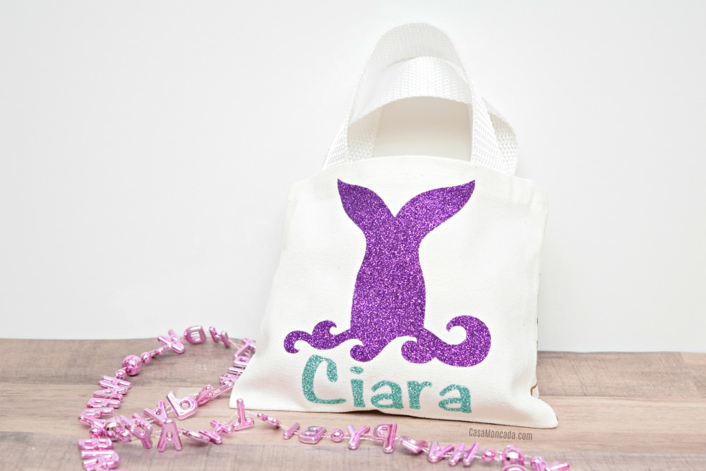 Mermaid birthday goodie bag