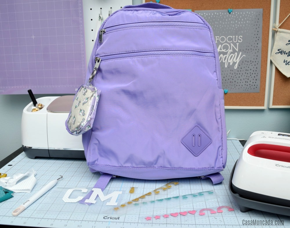 Monogrammed Unicorn Backpack