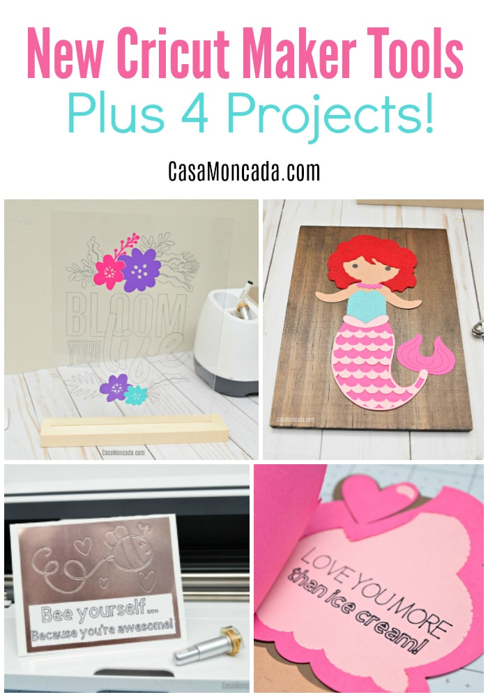 New Cricut Maker Tools Plus 4 Projects