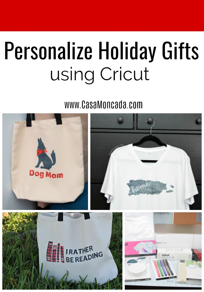 Personalize holiday gifts using cricut maker