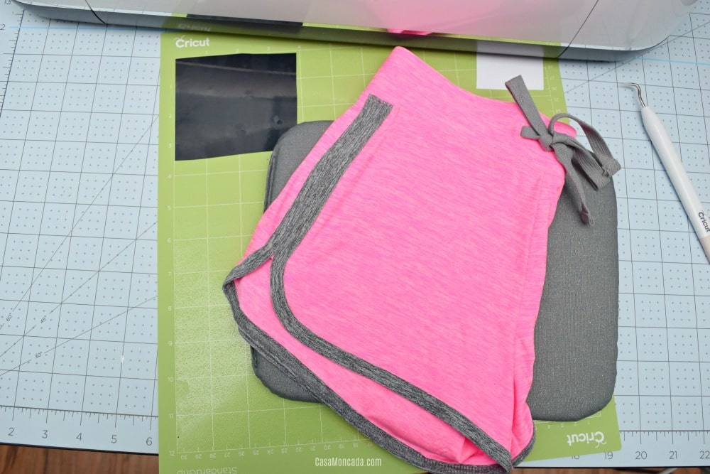 Soccer shorts using Cricut SportFlex