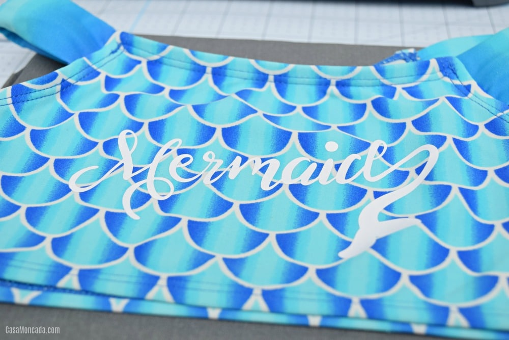 Using Cricut SportFlex on Bathing Suits
